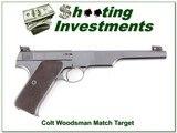 Colt Woodsman Match Target 22 made in 1941