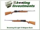 Browning A5 1970 Belgium Light 12 Buck Special