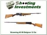 Browning A5 12 Gauge 68 Belgium