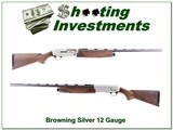 Browning Silver 12 Gauge Exc Cond 28in invector barrel