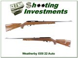 Weatherby Mark XXII 22 Auto Exc Cond - 1 of 4
