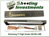 Browning Model 71 Carbine High Grade 348 Win NIB