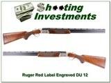Ruger Red Label 1984 DU Engraved 12 Ga 28in