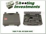 H&K Heckler & Koch P30 L-V1 Night Site Lite Trigger 40 S&W NIB