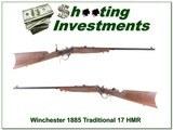 Winchester 1885 Rare Traditional Hunter 17 HMR!