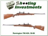 Remington 700 ADL 30-06 Exc Cond!