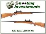 Sako L61R Deluxe in 270 Winchester
