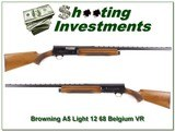 Browning A5 Light 12 69 Belgium VR