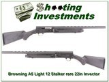 Browning A5 Light 12 classic Stalker 22in Invector