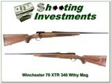 Winchester 70 XTR chambered in 340 Weatherby Mag
