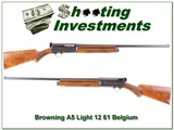 Browning A5 Light 12 61 Belgium 28in Mod