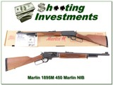 Marlin 1895M in 450 Marlin 18in unfired in box!