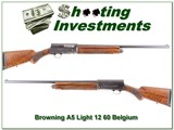 Browning A5 Light 12 60 Belgium 26in IC