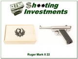 Ruger Mark I 1 of 5000 Bill Ruger Commemorative 22LR As New