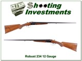 Robust Model 234 12 Gauge SxS 28in Exc Cond!