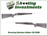 Browning A-bolt Stainless Stalker 325 WSM