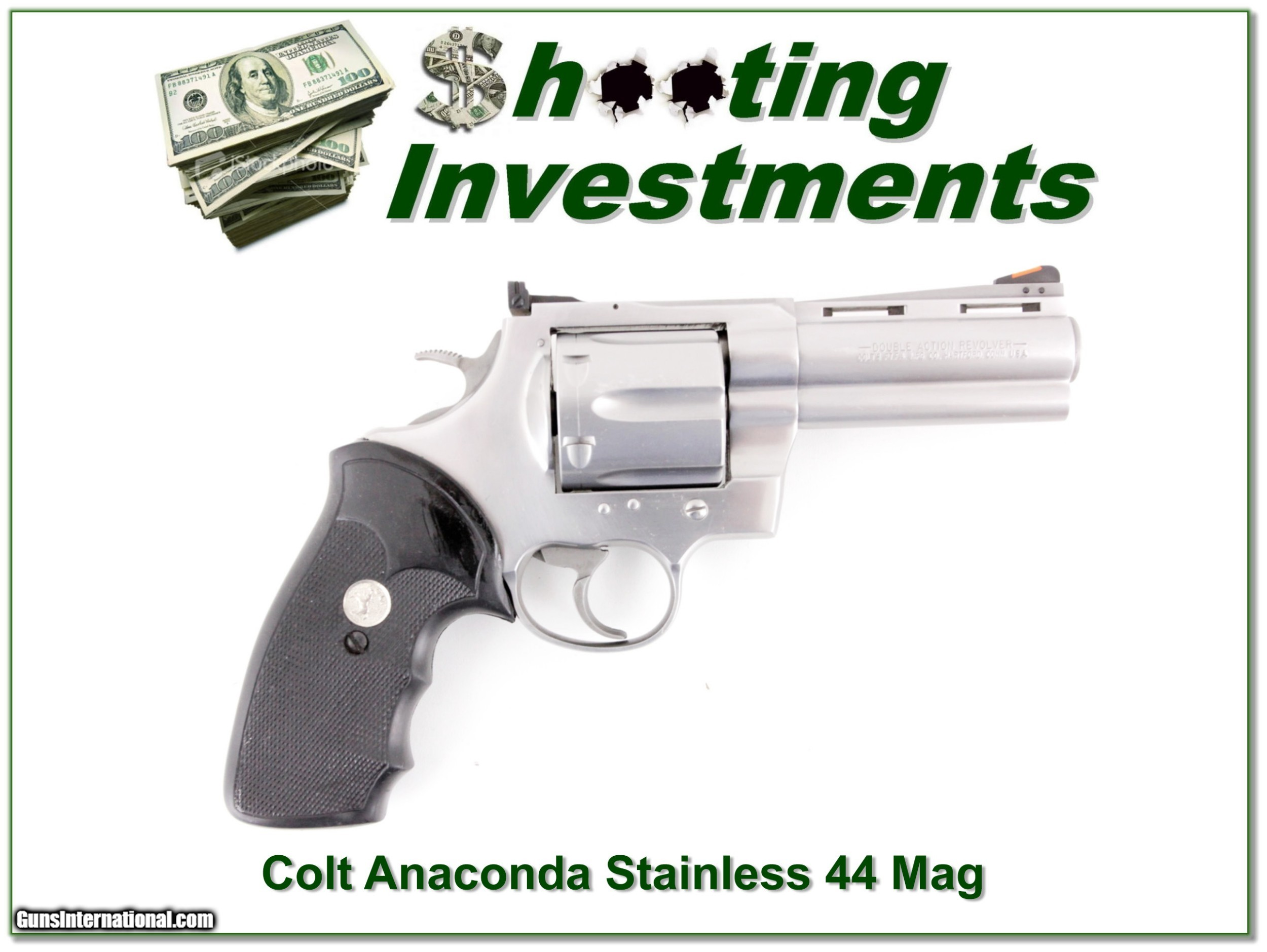 Colt Anaconda Stainless 44 Mag 4in