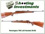 Remington 700 BDL Left Handed 30-06