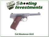 Colt Woodsman 22LR 1942 4.5 in as new
