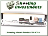 Browning A-Bolt II Stainless 375 H&H BOSS