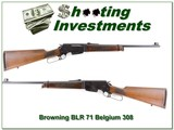 Browning BLR 71 Belgium 308 Collector!