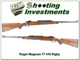 Ruger 77 Magnum Safari in 416 Rigby Exc Cond!