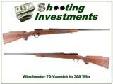 Winchester 70 Sporter Varmint 308 Winchester!