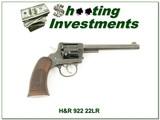 Harrington & Richardson H&R 922 22 Double Action