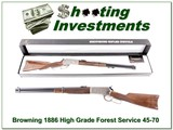 Browning 1886 Hi-Grade 45-70 Unfired!