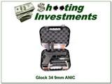 Glock 34 Gen 4 9mm upgraded in case