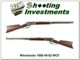 Winchester 1886 made in 1894 rare 40-82 WCF
