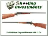 New England Firearms Partner SB1 12 Ga 3in 28in Mod