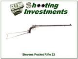 Stevens Pocket Rifle 22