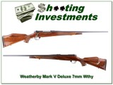 Weatherby Mark V Deluxe in 7mm Weatherby Magnum