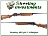 Browning A5 Light 12 51 Belgium made!