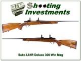 Sako L61R Finnbear Deluxe in 300 Win Mag!