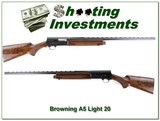 Browning A5 Light 20 VR 28in Mod XX Wood!