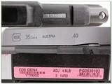 Glock 35 Gen 4 40 new & unfired in case - 4 of 4