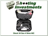 Glock 34 Gen 4 9mm new & unfired in case