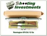 Remington 870 1974 Ducks Unlimited 12 Ga #29 NIC!