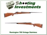 Remington 700 BDL vintage stainless 7mm