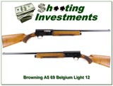 Browning A5 Light 12 69 Belgium Blond 26in IC