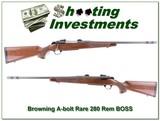 Browning A-bolt II Medallion rare 280 Rem BOSS