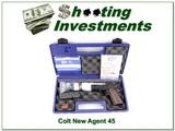 Colt New Agent Lightweight 45 ACP NIC