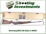 Browning BAR Mark II Safari 338 with BOSS & BOX