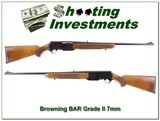 Browning BAR Grade II 7mm 69 Belgium Honey Blond