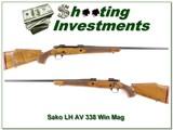 Sako AV LH Left Handed RARE 338 Win Mag