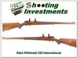 Sako Riihimaki International 222 collector!