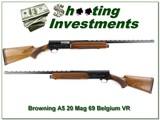 Browning A5 20 Magnum 69 Belgium 26in IC Vent Rib!