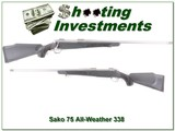 Sako 75 All-Weather Stainless 338 Win Mag
